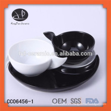 fashionable ceramic colour coffee cup and saucer,ceramic set