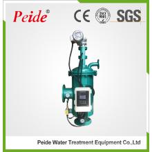 Automático de limpieza de tipo de cepillo de filtro de agua para el tratamiento de agua