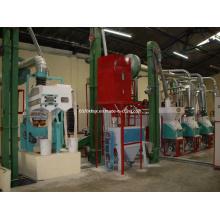 Mini máquina de harina de trigo 10 toneladas por 24 horas