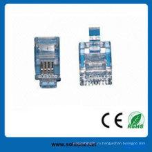 Телефонный модульный разъем Rj11 для 4p4c (ST-CAT3-U4P4C)
