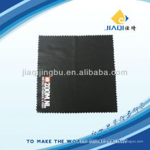 glasses cleaning cloth with one color LOGO and high colorfastness