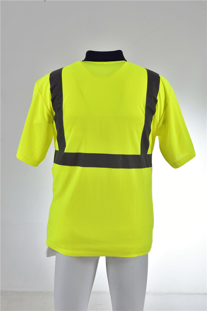 Security protection roadway reflective safety shirt