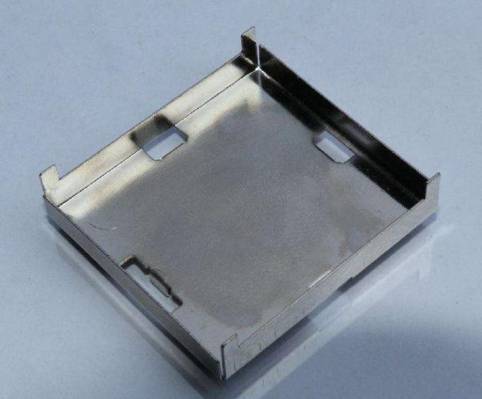 Metal stamping iron plate heat sink