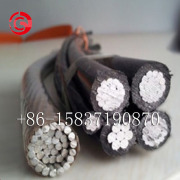 ABC overhead power cable AL Conductor PE/XLPE Insulated Cable