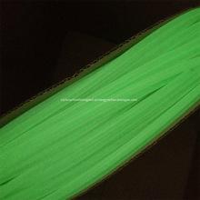 Tampa da cor verde Luminosa voar amarrando tubos