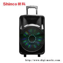 Venda al por mayor Active Bluetooth Trolley Active Speaker para Karaoke