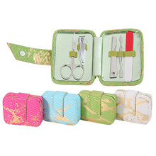 5 pcs Stainless Steel Nail Manicure Set