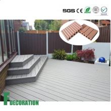 Piso compuesto de madera del piso de WPC al aire libre impermeable de la prenda impermeable