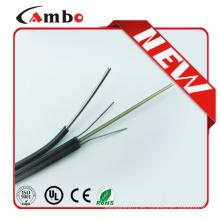 Shenzhen fábrica G657A1 Bend Residence 1/2/4 núcleo de mariposa cable de fibra de interior con cobre