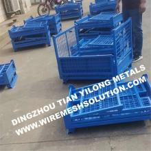 Welded Mesh Cage for Car Industry