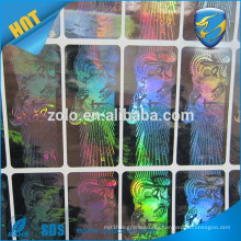 Genuine Electronics VOID Custom hose thread seals holographic sticker/label