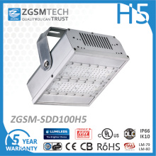 Lumière IP66 imperméable de tunnel de 100W LED avec des copeaux de Philips