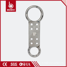 Universal-Sparkproofing Double-End-Sicherheits-Aluminium-Hasp mit 8 Vorhängeschlössern BD-K61, MasterLock 429 Lockout