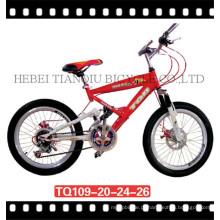 Bicicleta de montanha / MTB / bicicleta de suspensão