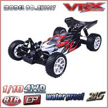 VRX racing 1/10 escala 4WD RC Brushless carro elétrico em brinquedos de controle de rádio