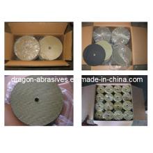 Refuerzos de fibra de vidrio para placa de abrasiva y discos