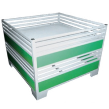Best selling Supermarket promotion desk/Supermarket moveable stacking promotion cage/Metal folding promotion table