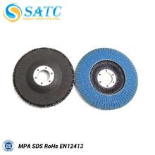 T 29 Soporte de fibra de vidrio de circonio para disco de aleta 40-240 grano 10 paquete