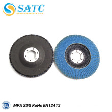 T 29 suporte de fibra de vidro de zircônio para flap disco 40-240 grit 10 pack