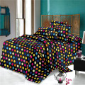 Comfortable Woven Polyester Disperse Printed Sheet Fabric