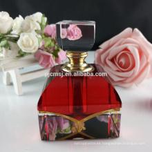 Botellas de perfume de cristal de la botella de perfume de cristal 6ml de pulido