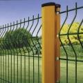 Cerca decorativa da varanda 3D que dobra a grade da rede de arame da grade para o uso do jardim