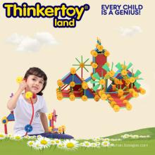 Toddlers Profissional de construção de brinquedos educacionais de tijolos de construção