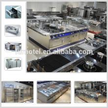Diseño de cocina de restaurante de venta caliente
