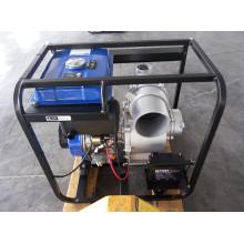Pompe à eau diesel de démarrage à cycle unique de 6 pouces pour une irrigation