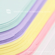 Cubierta dental desechable colorida de la bandeja de la impresión del papel