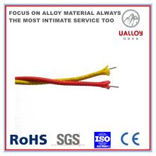 Tipo T Cable de compensación de termopar aislado / trenzado de fibra de vidrio