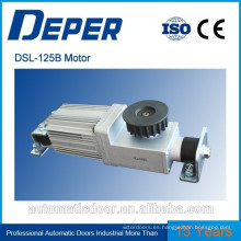 Motores eléctricos Deper para puertas automáticas