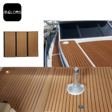 Melors Foam Anti-Bakterien EVA Faux Teak Decking Blatt Boot