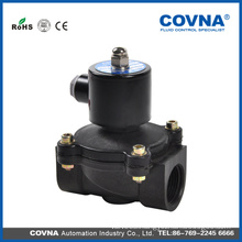 anti-corrosive plastic direct lifting diaphragm alcohol 24v solenoid valve
