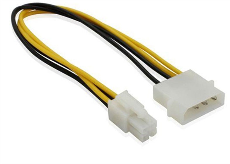 P4 To 4 Pin Computer Motherboard Power Cable