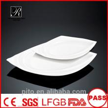 Plaques de steak en porcelaine P & T, assiettes, assiettes en céramique