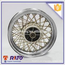 Para RT125-12 la buena calidad 3.0 * 13 alambre habló las ruedas de la motocicleta para la venta