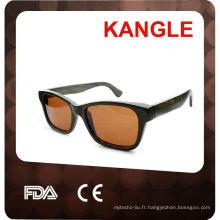 2015 lunettes de soleil en bois avec lentille polarisée Chine