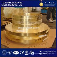 copper strips 1 inch C4250 Brass Strip Vendor Coil Price Per Kg