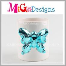 Artisanat unique en céramique de conception de diamant pour la tasse de cadeau