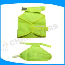 High visibility reflective pet safety vest