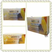 C6H8O6 Vitamin C Tabletten