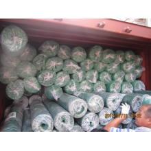 100% ПЭ с УФ-монтаж страховочной сеткой для тени чистой
