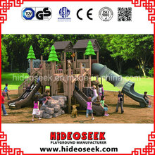 ASTM Standard Wood Color Play Ground Eqiupment with Slide