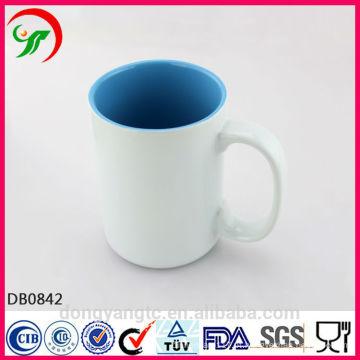 Copo cerâmico da caneca do logotipo feito sob encomenda, copo de café cerâmico, copo cerâmico