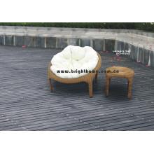 Sofá de mimbre de ratán Muebles de jardín al aire libre Bg-P39