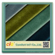 Tissu super doux en polyester pour housse de siège d'auto
