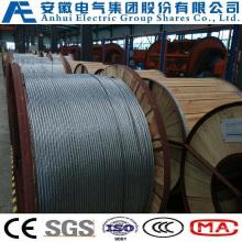 19no. 10AWG, Concentric-Lay-Stranded Алюминиевые плакированные стальные проводники, как проволока