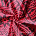 Comercio al por mayor impreso 100% tejido de cortina de poliéster