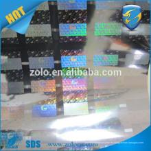 Holograma de moda de diseño de hologramas de punto-matriz / rollo de película holograma de decoración